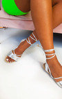 Lois Lace Up Sandals Thumbnail