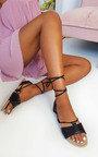 Lois Lace Up Sandals Thumbnail