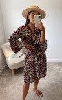 Lois Printed Smock Dress Thumbnail