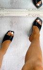 Lola Asymmetrical Mule Heels Thumbnail