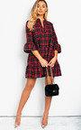Lola Printed Smock Dress Thumbnail