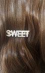 Lola Slogan Sweet Pearl Detail Hair Clip Thumbnail