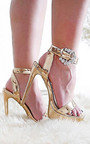 Lolita Barely There Platform Heels Thumbnail