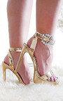 Lolita Barely There Platform Heels Thumbnail