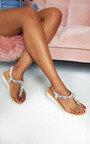 Lolita Jewelled T-Bar Sandals Thumbnail