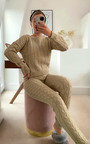 Loretta Cable Knit Co-ord Thumbnail