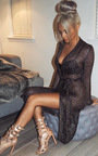 Lorna Metallic Knit Dress  Thumbnail