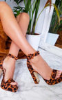 Lorna Strappy Platform Block Heels Thumbnail