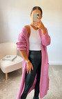Lottie Longline Knitted Cardigan Thumbnail