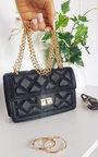 Lottie Quilted Chain Detail Handbag Thumbnail