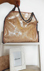 Louisa Metallic Handbag Thumbnail