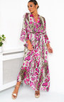Loz Printed Floaty Maxi Dress Thumbnail