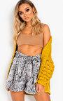 Luca Chunky Knit Longline Cardigan Thumbnail