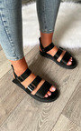 Lucinda Strappy Buckle Ankle Fastening Sandals Thumbnail