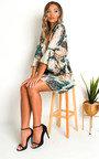 Lucy Printed Floaty Mini Dress Thumbnail