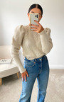 Luna Cable Knit Jumper Thumbnail