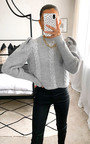 Luna Cable Knit Jumper Thumbnail