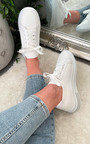 Luna Lace Up Sock Trainer  Thumbnail