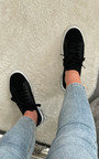 Luna Lace Up Sock Trainer  Thumbnail