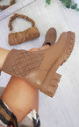 Luz Quilted Ankle Boots Thumbnail