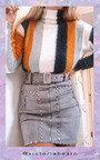 Lydia Zip Up Studded Skirt  Thumbnail