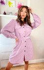 Lyla Cord Shirt Dress Thumbnail