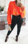 Lyla Faux Leather Paperbag Trousers Thumbnail