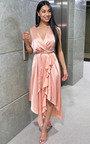 Lynn Frill Hem Midi Dress  Thumbnail