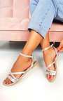 Mags Ankle Strap Studded Sandals Thumbnail