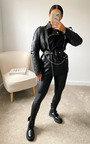 Mais Faux Leather Jacket Thumbnail