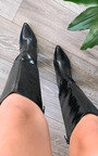 Mandy Knee High Heeled Boots Thumbnail
