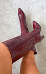Mandy Knee High Heeled Boots Thumbnail