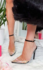 Mandy Perspex Pointed Court Heels Thumbnail