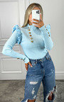 Maren Ruffled Shoulder Jumper Thumbnail