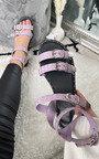Maren Studded Double Buckle Sliders Thumbnail