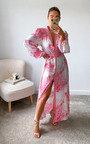 Maria Floral Button Up Maxi Dress Thumbnail