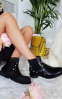 Maria Pearl Studded Ankle Boots Thumbnail