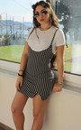 Maria Stripe Mini Dress Thumbnail