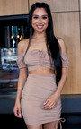 Marie Bodycon Mini Skirt  Thumbnail