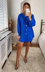 Marissa Button Up Shirt Dress Thumbnail