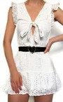 Marissa Crochet Lace Mini Dress Thumbnail