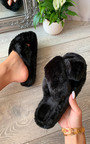 Marissa Faux Fur Slippers Thumbnail