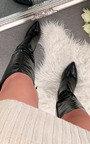 Marissa Pointed Heeled Boots Thumbnail