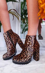 Marley Faux Suede Platform Boots Thumbnail