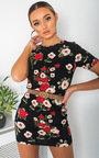 Marrianne Floral Print Mini Dress Thumbnail