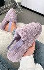 Marsha Faux Fur Slippers Thumbnail