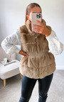 Martha Faux Fur Gilet Thumbnail