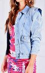 Martina Embellished Denim Jacket Thumbnail