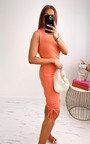 Martina Ruched Side Mini Dress Thumbnail