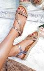 Matilda Diamante Flatform Sandals Thumbnail